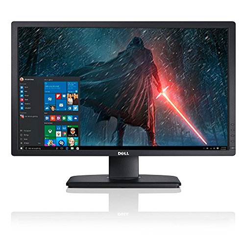 "2017 Newest Premium High Performance Dell 24"" Ultrasharp Full HD LED-Backlit IPS 1920x1200 Resolution Monitor Widescreen 16:10 Aspect Ratio VGA DVI Dislay Port Connectivity"
