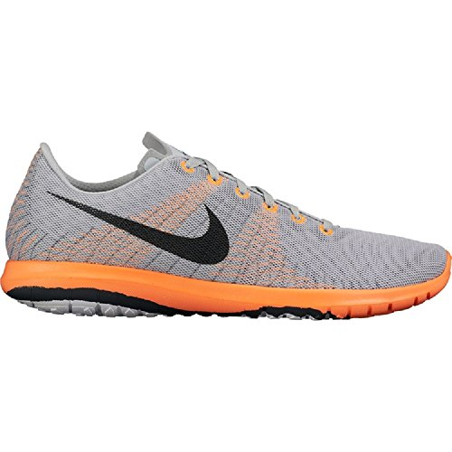 Nike Menns Flex Raseri Joggesko Grå / Orange 705298-011 (11)