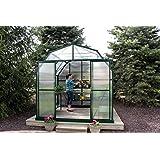 Grandio Elite 8x12 Greenhouse Kit - 10mm Twin-Wall Polycarbonate