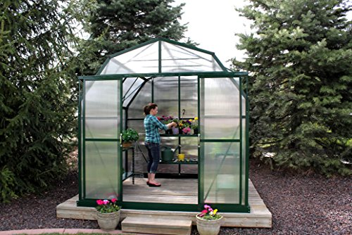 Grandio Elite 8×12 Greenhouse Kit – 10mm Twin-Wall Polycarbonate