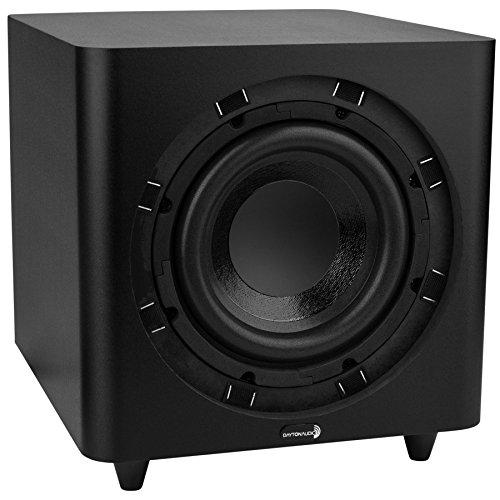 Dayton Audio SUB-800 8-Inch 80 Watt Powered Subwoofer (Black) 2