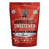 Lakanto Monkfruit 1:1 Sugar Substitute | 3 Ib NON GMO (Classic White)