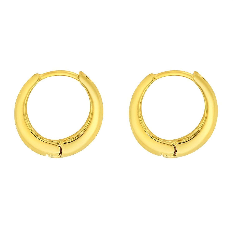 Bebold Gold Salman Khan Inspired Kaju Piercing Bali Earring Studs ...