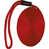 Seasense 3/8 X 15-Feet Solid Braid Mfp Dockline, Red