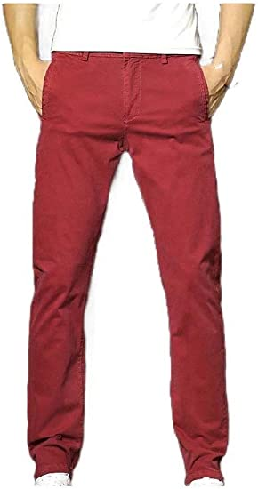 Kankanluck Men's Vingtage Long Pants Relaxed Fit Tailored Fit Running Trousers