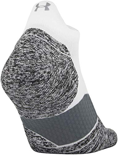 Under Armour Adult Run Cushion No Show Tab Socks, 1-Pair