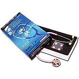 Stetoscopio GIMA Classic,  rosa, dispositivo medico CE, per medici, infermieri, veterinari, studenti ed uso domestico