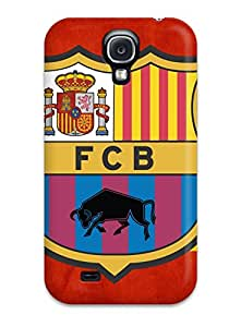 Galaxy S4 Case, Premium Protective Case With Awesome Look - Barcelona Fc