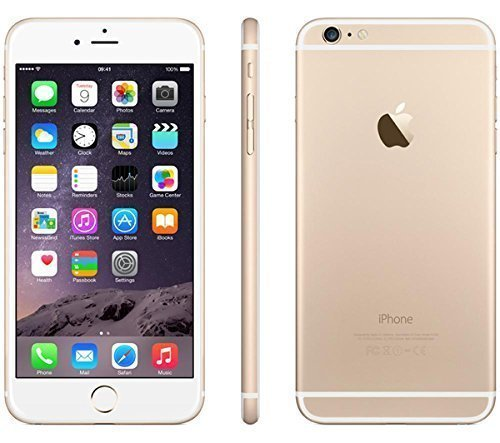 Apple iPhone 6 Plus, GSM Unlocked, 64GB – Gold (Certified Refurbished)