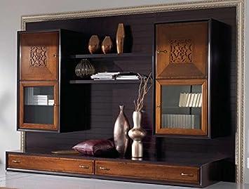 COM U2013 Wand Für Wohnzimmer, Täfelung Schwarz Vintage, Struktur Schwarz  Vintage,