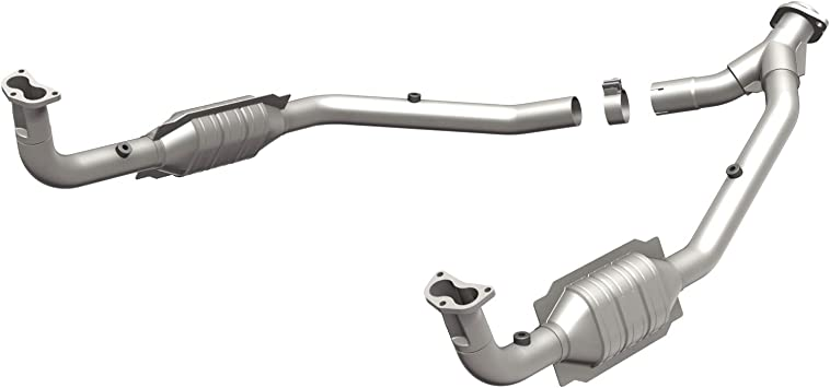 Non CARB compliant MagnaFlow 93390 Direct Fit Catalytic Converter