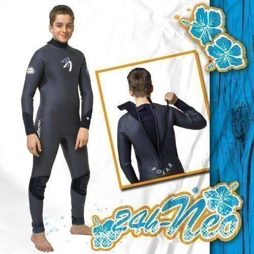 ASCAN JUNIOR POLAR Kinder Neoprenanzug Surfanzug 5 mm, 164