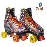 Zuxi Quad Roller Skates for Girls/Kid's Toddler