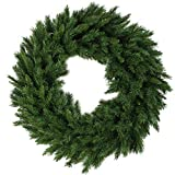 Northlight V03944 Lush Mixed Pine Artificial Christmas Wreath, 24