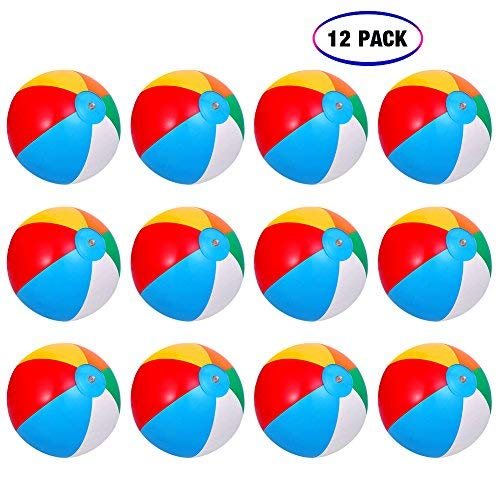Inflatable Beach Balls[12PACK] 10