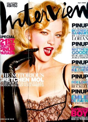 Interrogate Magazine - April 2006 - Gretchen Mol By Graham Fuller Cover