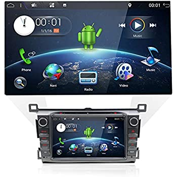Double Din Car Stereo Audio with in-dash GPS Navigation System for Toyota  RAV4 2013,2014,2015, YUNTX 2 Din Rav4 Radio with Android 7 1,8