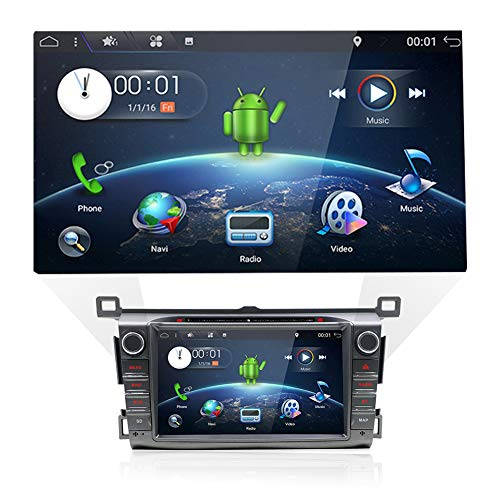 Double Din Car Stereo Audio with in-Dash GPS Navigation Syst