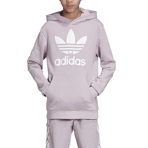 adidas Originals EJ3247 Sweat Shirt pour Fille Motif trèfle