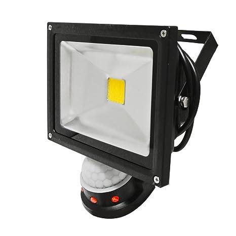 Reflector seguridad al aire libre de la prenda impermeable LED del sensor de movimiento