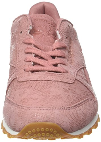 chalk Rose Basses Baskets Classic gum Leather Femme Rose Exotics Reebok sandy Clean WS7azwAWv