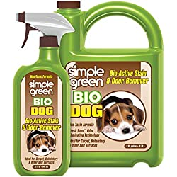 SIMPLE GREEN Bio Dog Bio Active Stain & Odor Remover 1 gal + 32oz