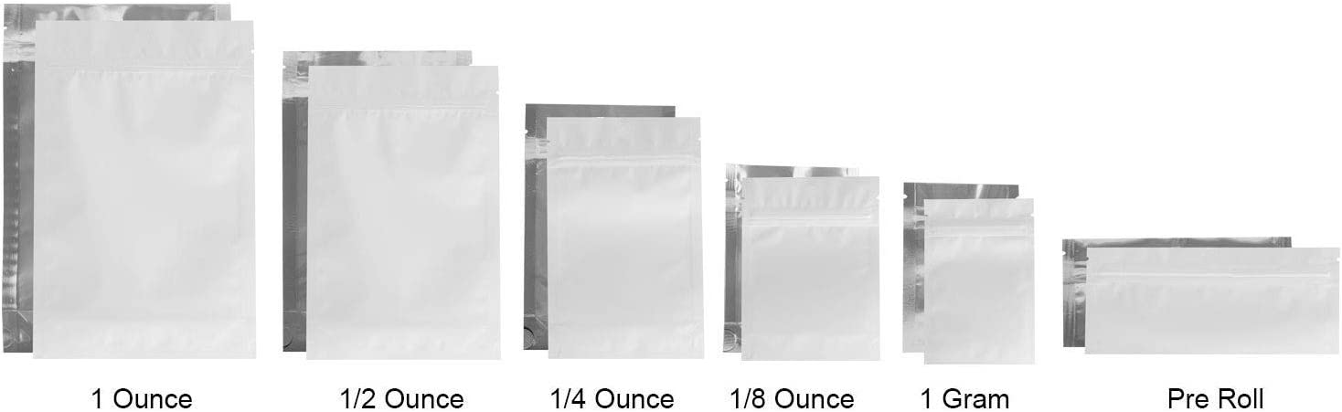 """Clear Reclosable Tiny Bags 2 Mil 2.5/"""" x 3/"""" Durable Ziplock Polybag 4000 Count"""