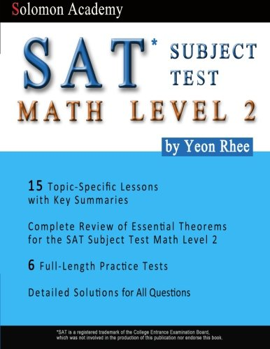 Solomon Academy's SAT Subject Test Math Level 2