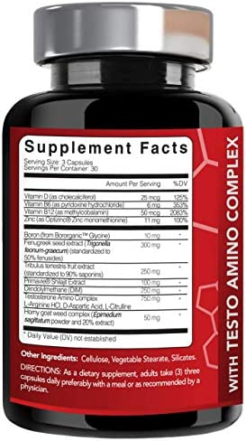 Extra Strength Muscle Growth Supplement