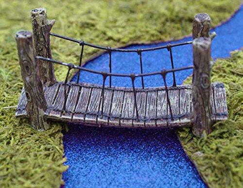 Miniature Garden Woodland Suspension Bridge product image
