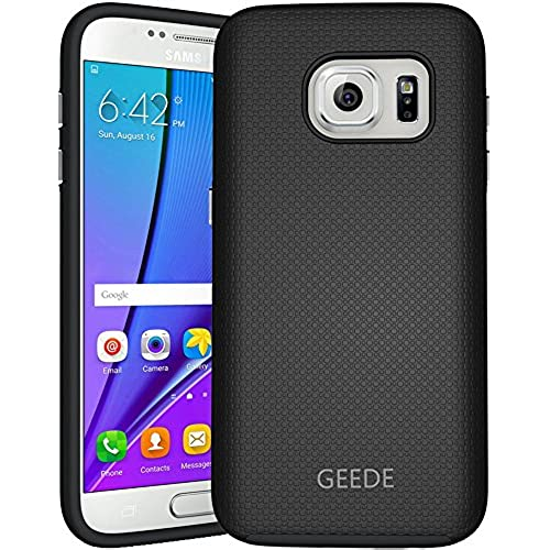 Galaxy S7 Case, GEEDE [Ultra Fit Armor] Shock Absorbing Case Best Heavy Duty Dual Layer Tough Cover for Samsung Galaxy S7(Black) Sales