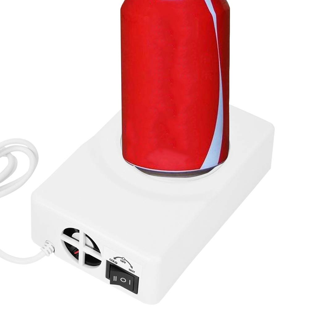 USB Coaster, Cold/Hot Dual-Purpose Coaster Portable USB Powered Cup Warmer On Desk Coffee Cup Insulated Pad Mat for Office by Pomya