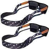 Kyпить TORTUGA STRAPS FLOATZ RF Java Black Glasses Strap - 2 Pk | Floating Adjustable Sunglass Straps | Soft & Comfortable Dual Sided Fabric | 3MM Neoprene Base for Added Durability | Universal Easy Fit на Amazon.com