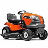 Husqvarna 960430212 YTA22V46 22V Fast Continuously Variable Transmission Tractor Mower, 46''/Twin