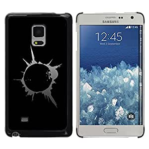 Planetar® ( Abstract Splash Blast ) Samsung Galaxy Mega 5.8 / i9150 / i9152 Fundas Cover Cubre Hard Case Cover