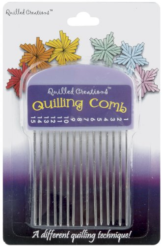 Quilled Creations Quilling Comb (Patterns Free Quilling)
