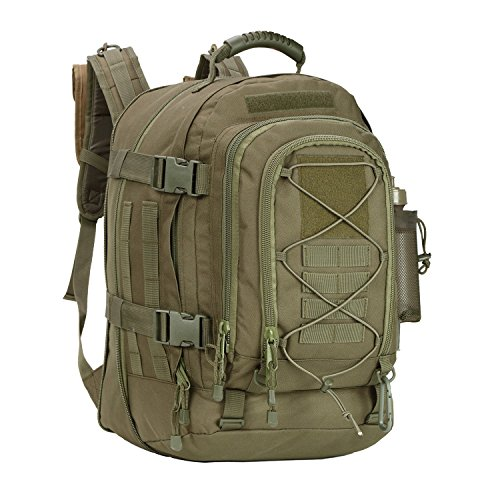 ARMYCAMOUSA Military Tactical Backpack, Large 3 Day Army Molle Assault Rucksack for Outdoors, Hiking, Camping, Trekking, Bug Out Bag & Travel
