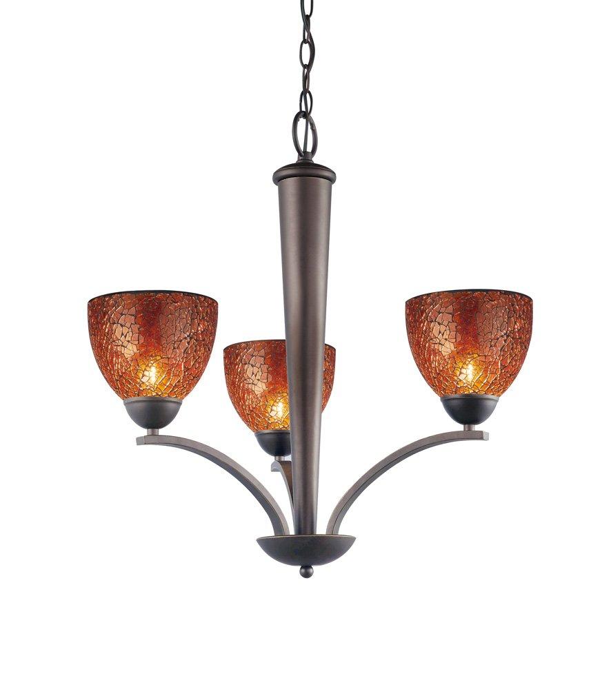 Amazon.com: WOODBRIDGE iluminación 13013 meb-m21amb Norte ...