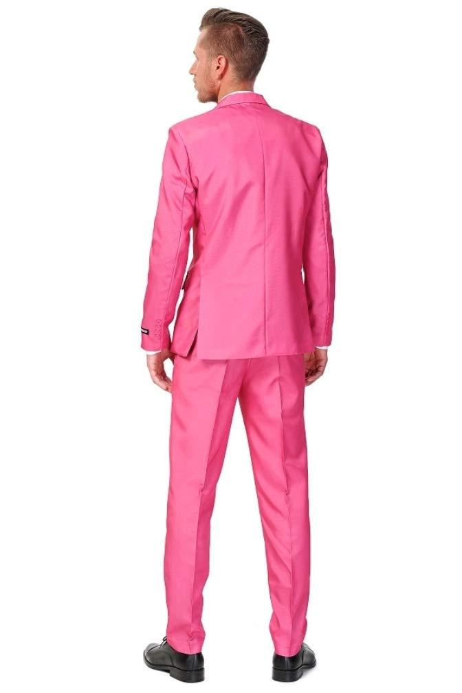 Traje rosa hombre Suitmeister XL: Amazon.es: Juguetes y juegos