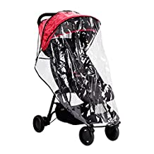 Mountain Buggy Single Storm Cover for Duet Double Stroller, Clear