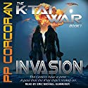 Invasion: K'Tai War Series, Book 1 Audiobook by PP Corcoran Narrated by Eric Michael Summerer