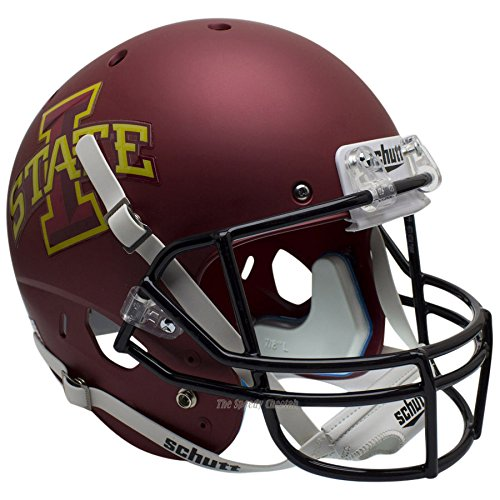 Iowa State Cyclones Matte Officially Licensed Full Size XP Replica Football Helmet