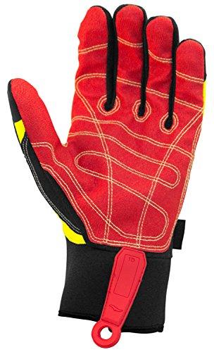 Cestus Pro Series Deep Grip Kool Impact Glove, Medium (Pack of 1 Pair) by Cestus (Image #2)