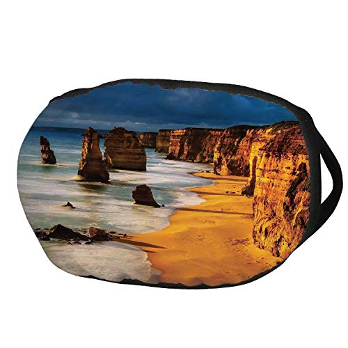 Fashion Cotton Antidust Face Mouth Mask,Coastal Decor,Twelve Apostles
