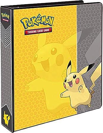 pikachu 3 ring binder card album 2 toys