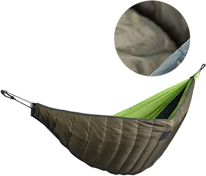 Houkiper Cubierta de Hamaca Gruesa, Cubierta de Hamaca para Dormir Ultraligera de Invierno Manta para Dormir Más Cálida a Prueba de Viento
