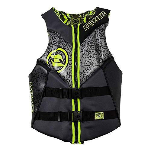Hyperlite 2019 Mens Alibi Neo Vest CGA for Wakeboard Wakesurf Ski XL