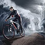 WZB-Mountain-Bike-2127-Speed-Steel-Frame-26-Pollici-Razze-Ruote-Sospensione-Bici-Pieghevole-Bianco-27-velocit