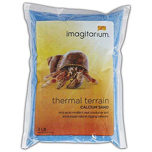 - Imagitarium Blue Hermit Crab Sand, 2lbs, 2 LB