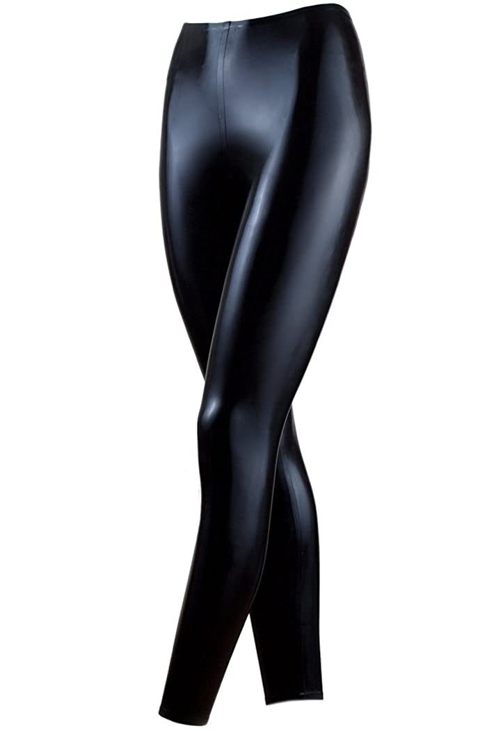 Collective Chaos Latex USA Quality Leggings Black